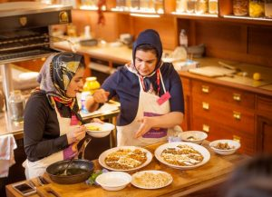 Read more about the article Iranian mother-daughter duo take London by storm, one spoon of saffron at a time