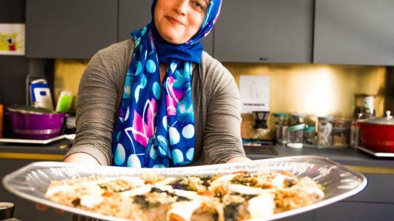 Vegetarian Iranian cookery class with Elahe