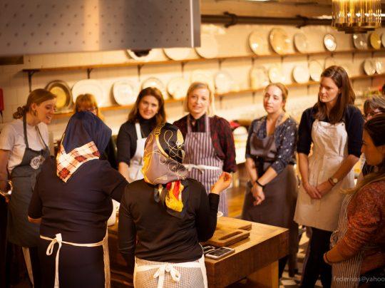 Jamie Oliver Iranian class